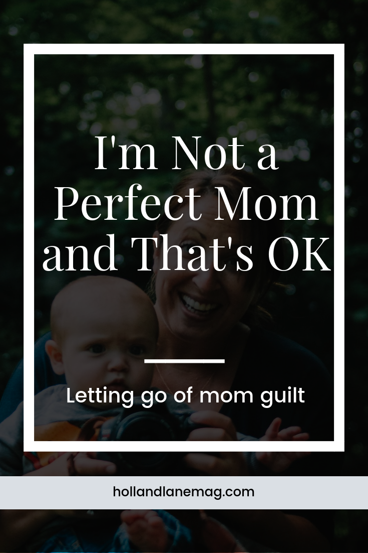 I've been beating myself up about having a hard time dealing with work and being a mom to a toddler and a newborn. There were days I didn't think I'd survive. And it's OK to have those feelings. // Click to read more from Holl & Lane Magazine at hollandlanemag.com #motherhood #parenting #momguilt #selfcare