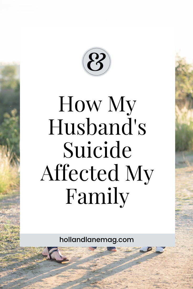 Trying to rebuild a life after her husband committed suicide. Click to read more at hollandlanemag.com