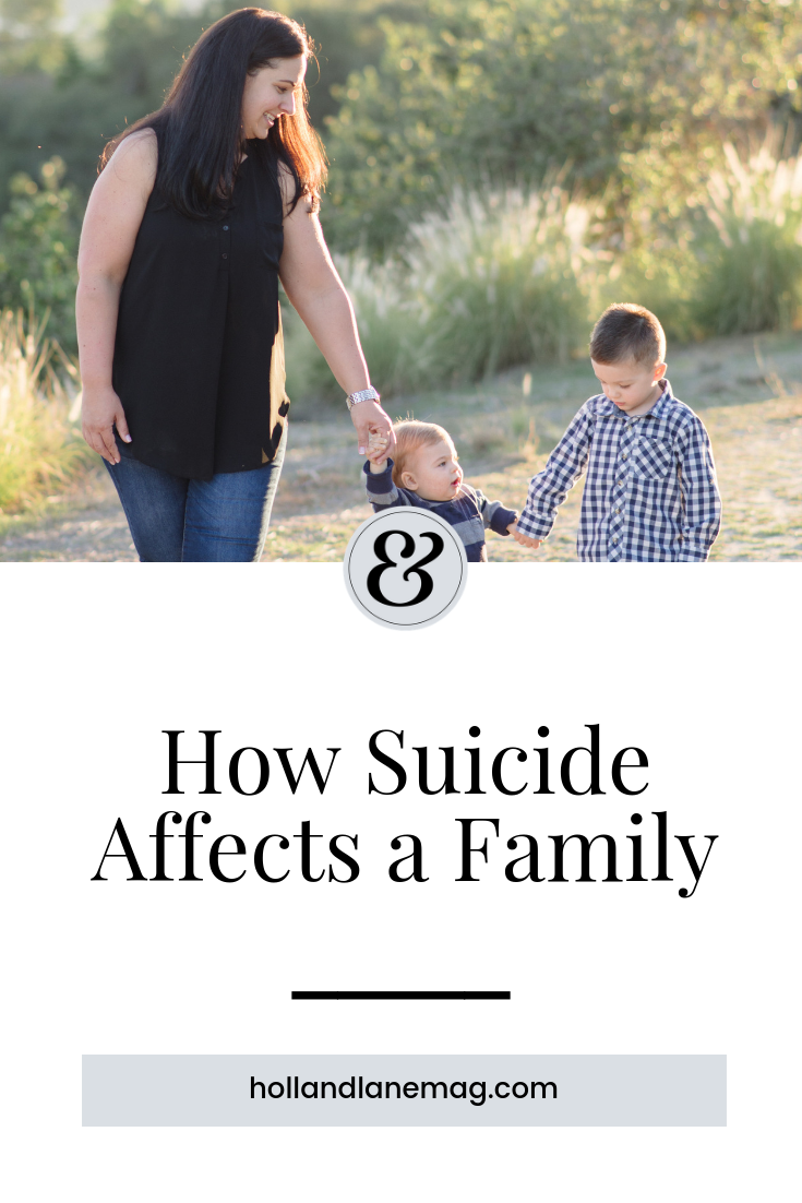 After her husband committed suicide, her life was forever changed. Click to read more at hollandlanemag.com