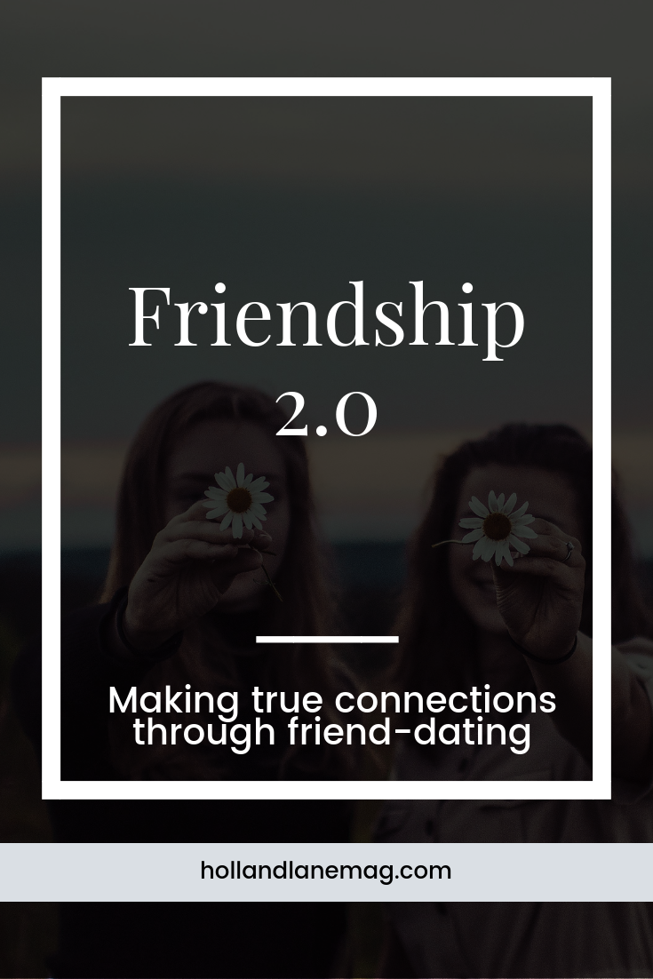 Making friends as you get older is hard, so one woman is friend-dating to find true connection. Click to read more at hollandlanemag.com