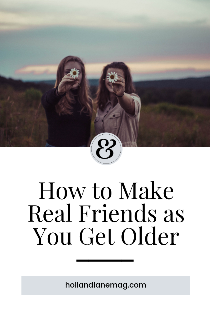 On a quest to find more meaningful relationships, one woman is friend-dating. Click to read more at hollandlanemag.com