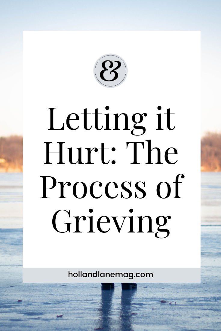 We should allow ourselves more patience to walk through grief at our own pace. Click to read more at hollandlanemag.com