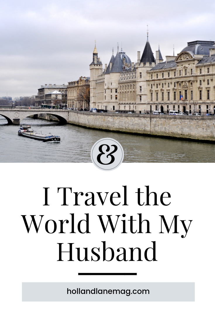 We are willing to live on less because seeing new places is the goal. Click to read more at hollandlanemag.com