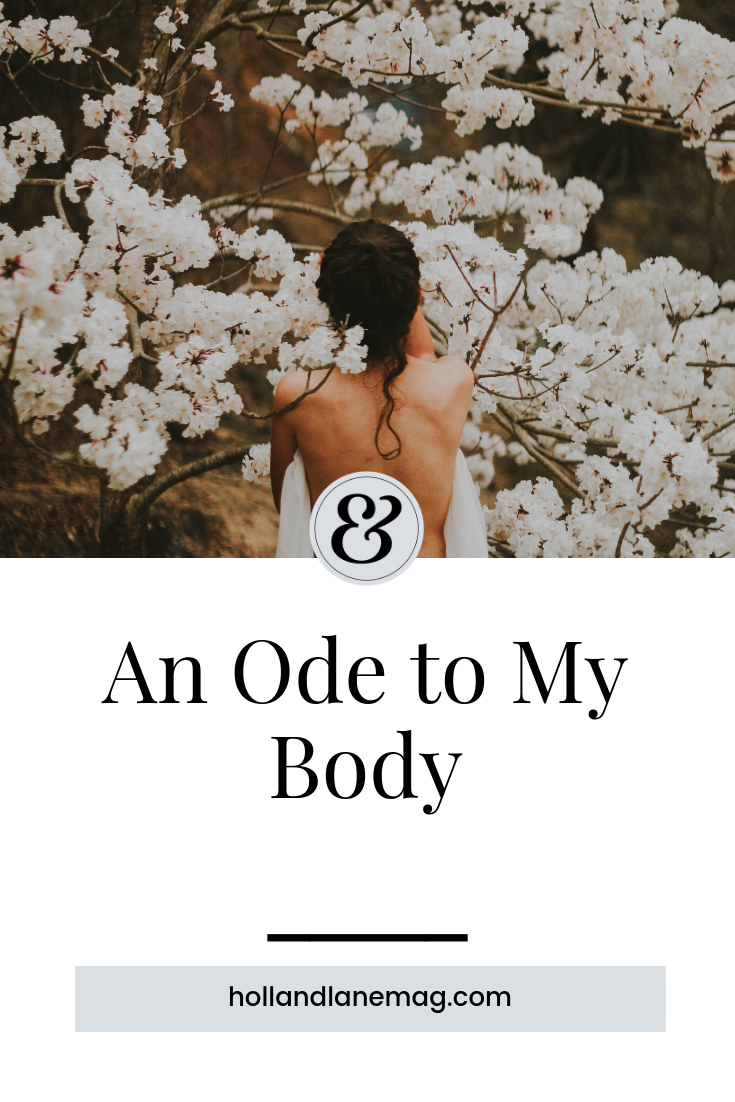 My body is my temple. Click to read more at hollandlanemag.com