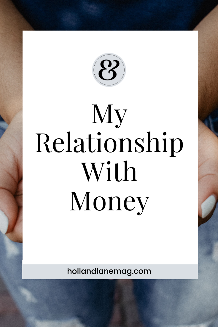 My self worth was tied to this notion of divvying up a pile of money until it was gone and then starting all over again. Read more at hollandlanemag.com