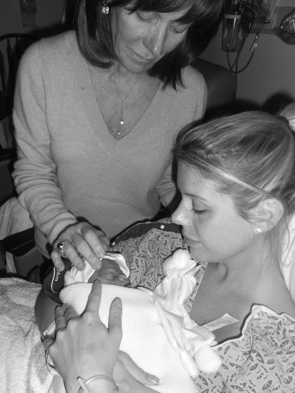 Losing Grace - a mother's impossible choice. Read more from Holl & Lane at hollandlanemag.com
