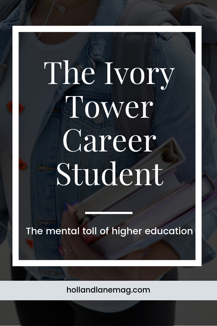 Anxiety and mental overwhelm as a college student. Read more at hollandlanemag.com