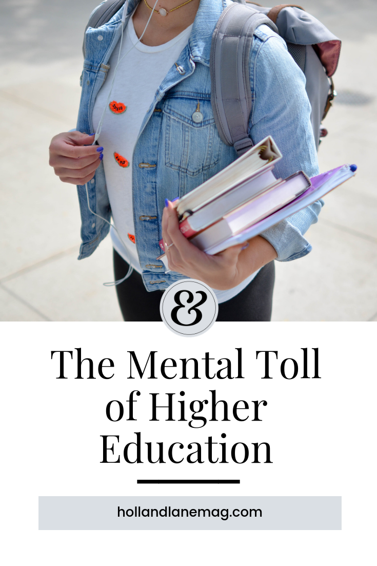 Being overwhelmed is second nature to a college student. Read more at hollandlanemag.com