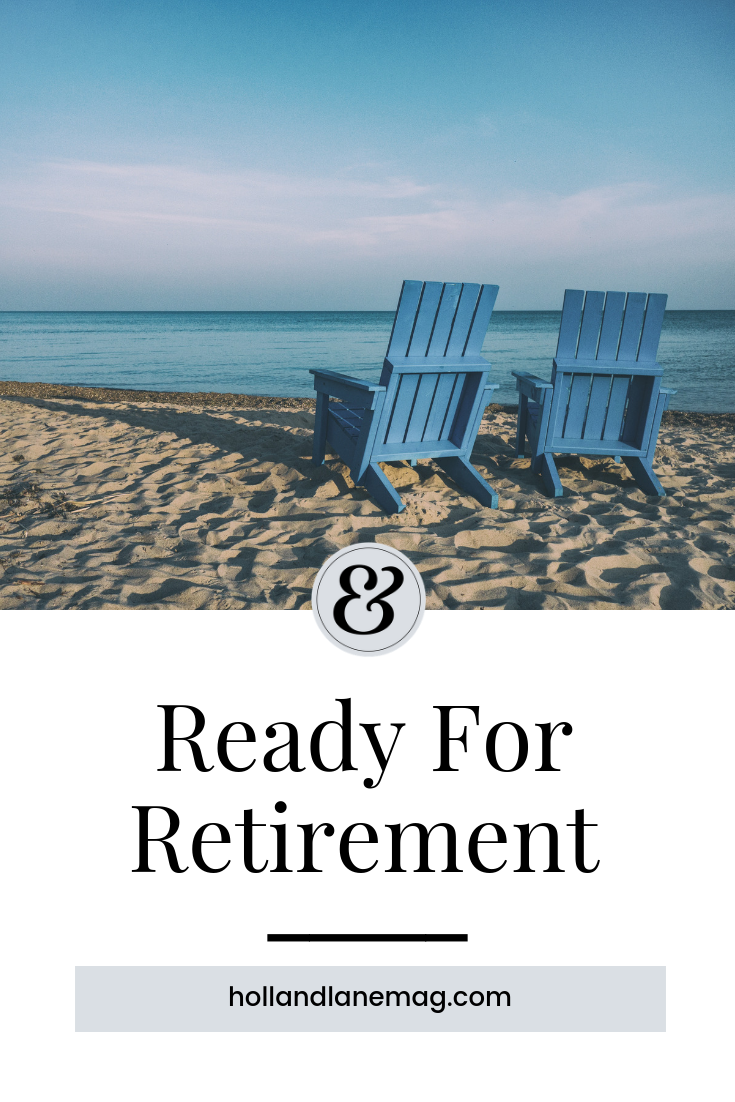I hope to have a productive, meaningful, and very colorful retirement. Read more at hollandlanemag.com