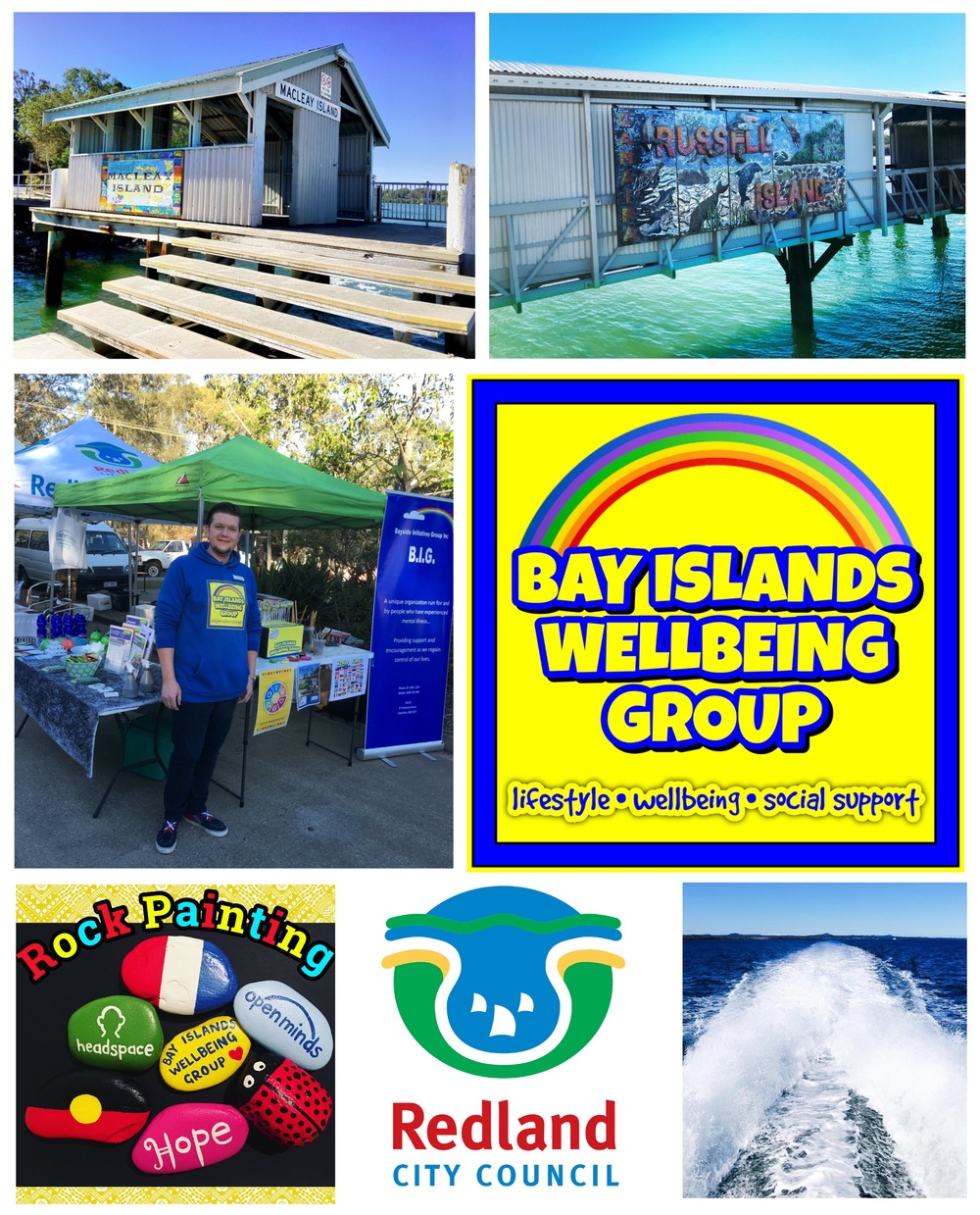 Bay Islands Wellbeing Group - Peer Support group for residents of the Southern Moreton Bay Islands