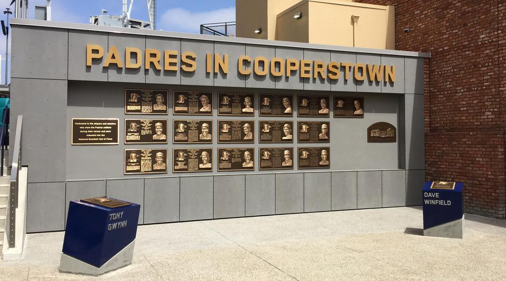 Larimer Design Padres Hall Of Fame