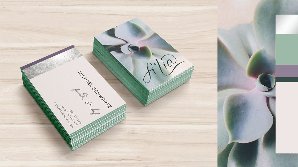 Fi'lia Business Cards