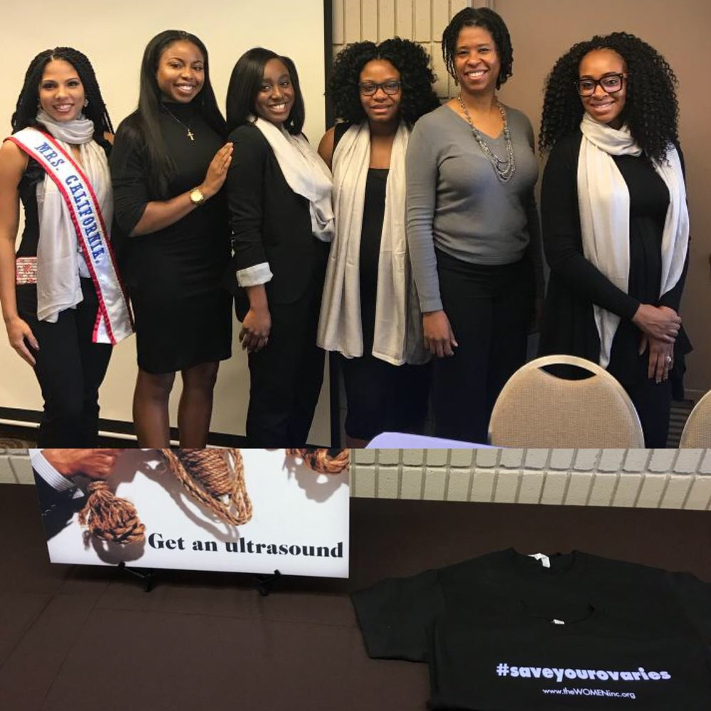 The Miseducation of Women's Health in America with the Executive Board of W.O.M.E.N. Inc. and keynote speaker Dr. Regina Edmond.