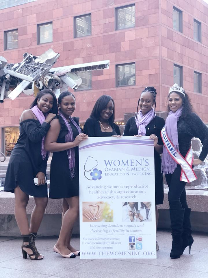 W.O.M.E.N. Inc Executive Board at the Women's Healthy Hour in Downtown Los Angeles