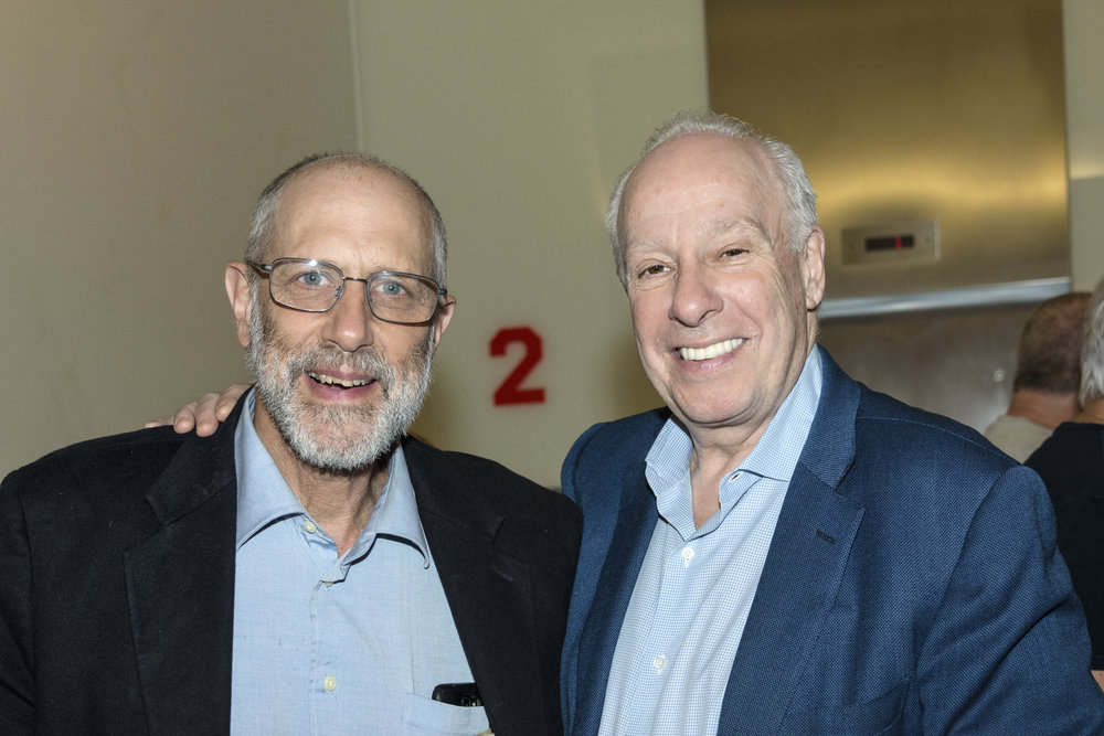(L-R) Richard Feldman and Richard Isaacson