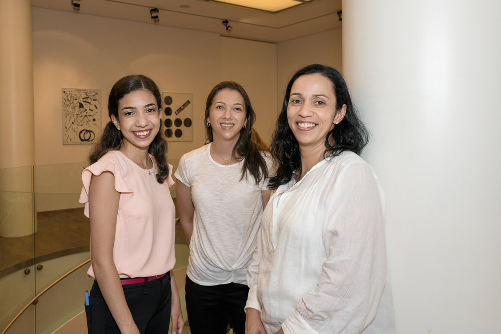 (L-R) Isabelle Barbosa, Maira Silva and Lucianna Silva