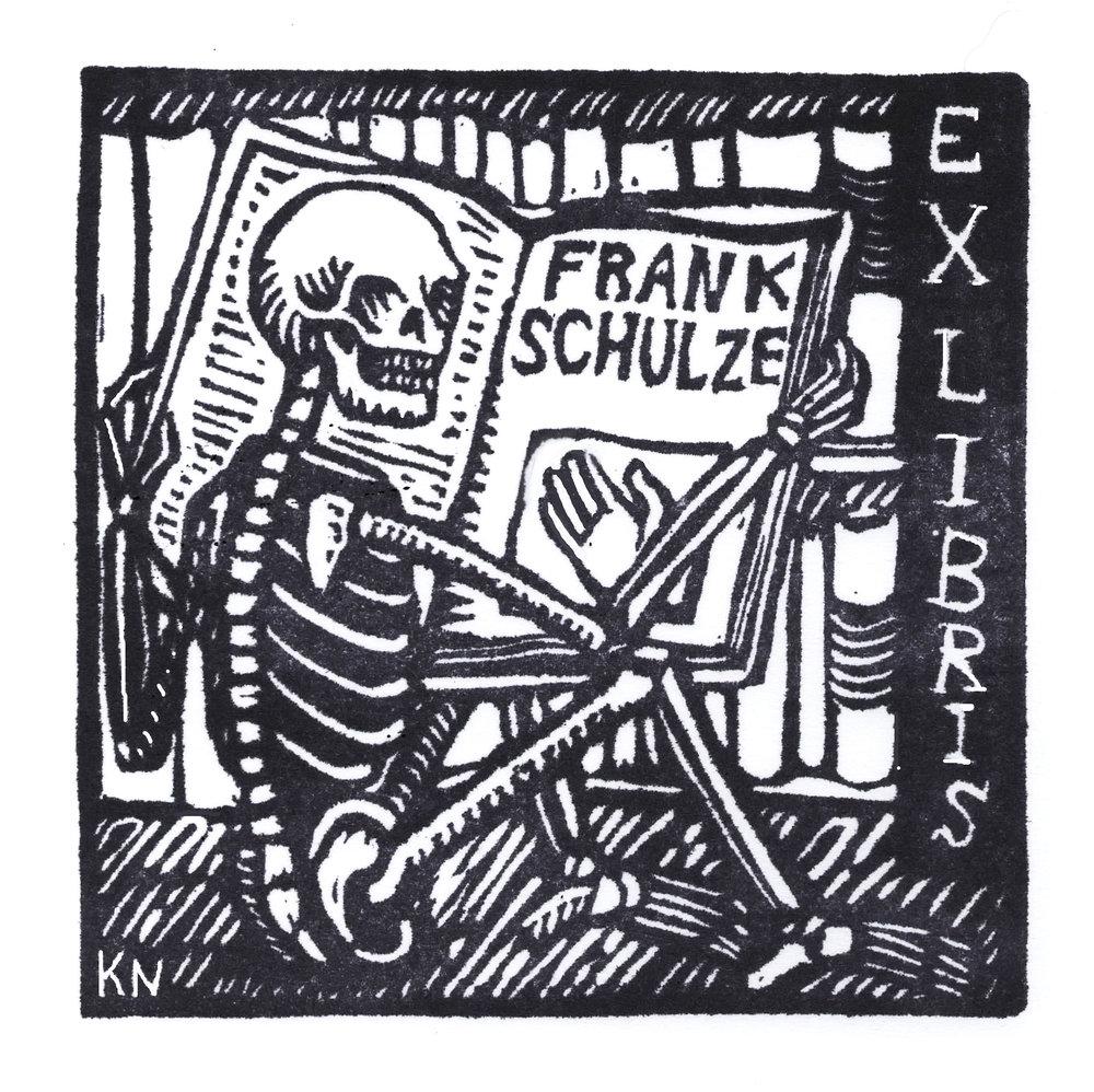Ex libris, Frank Schulze