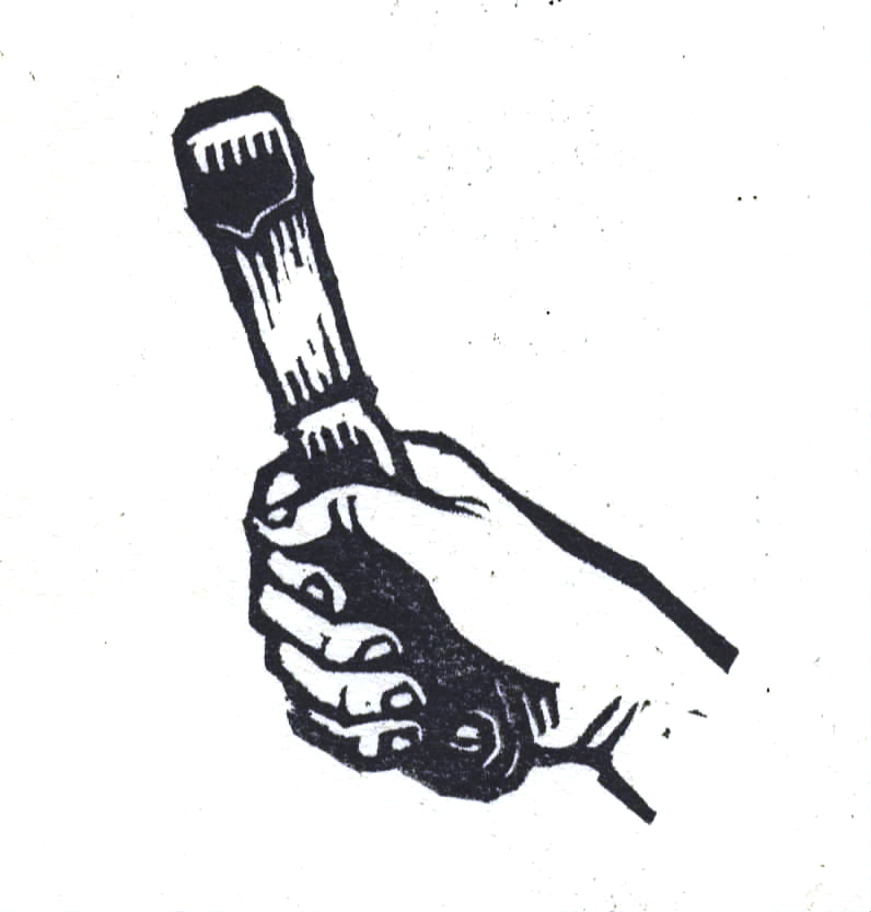 Hand with spatula
