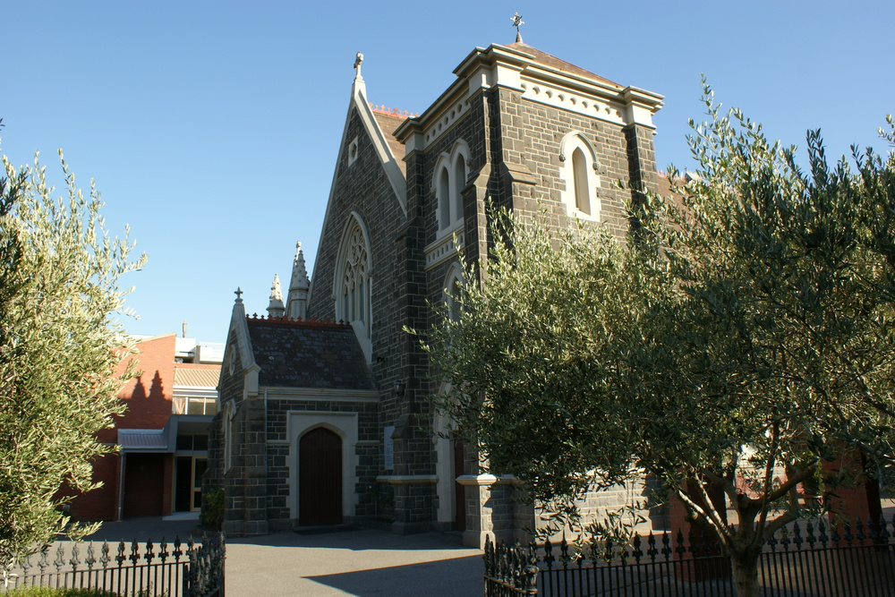 ST AMBROSE'S CHURCH   A wonderful example of late gothic church architecture, the Church is open for private prayer every day except Monday, at 287 Sydney Road Brunswick.