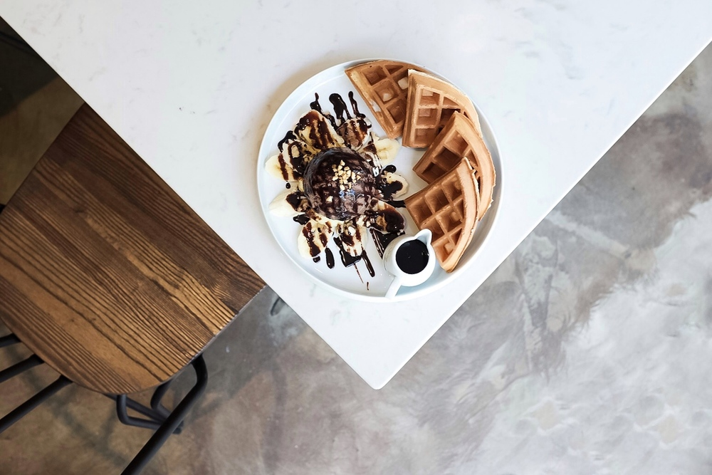The picture perfect waffle.