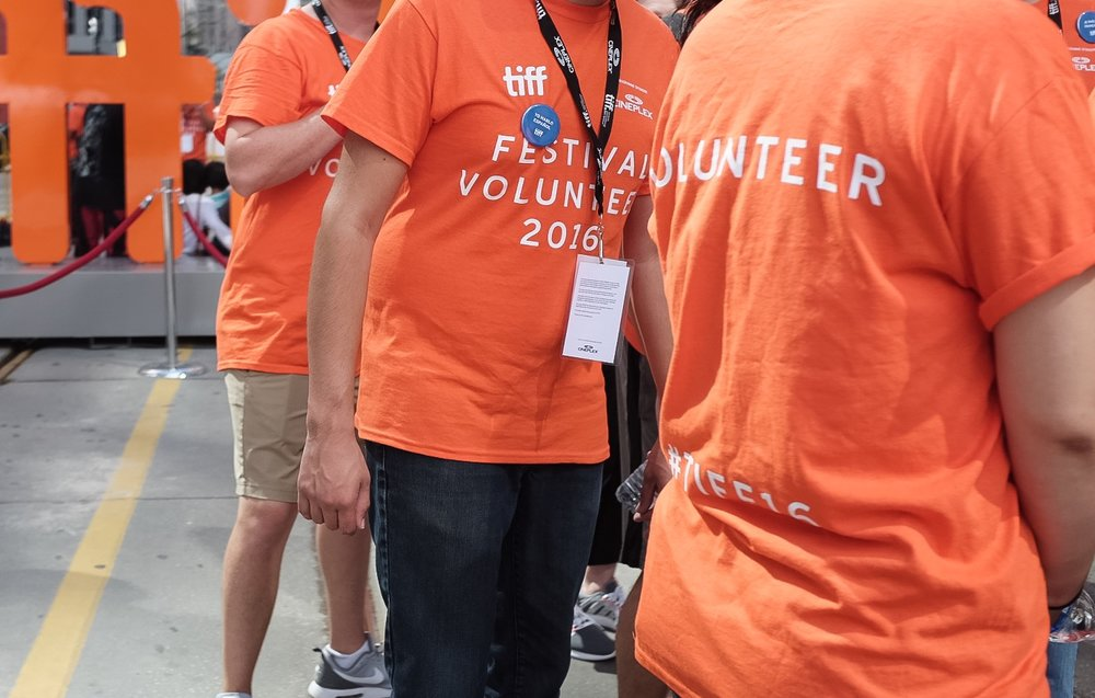 Thousands of volunteers help with the smooth sailing of the festival each year.