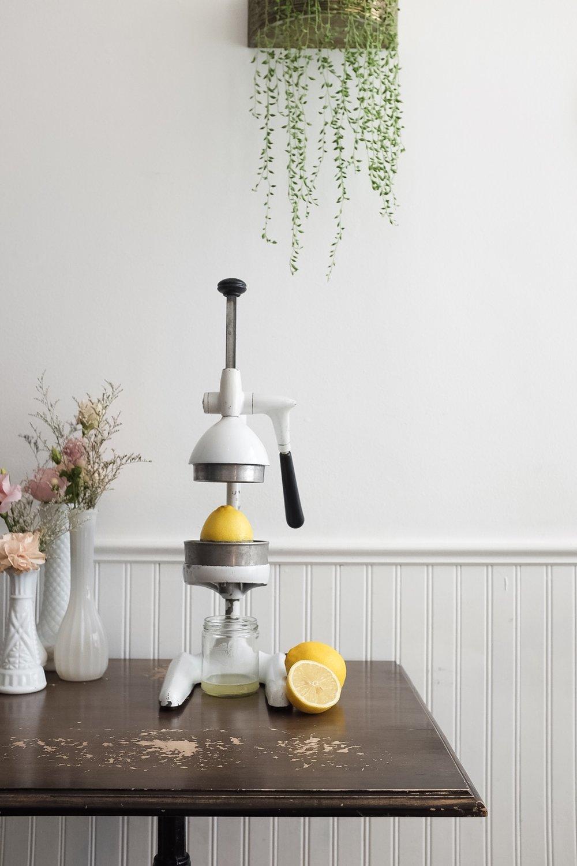 Fresh lemon juice is used in each batch of preserve.