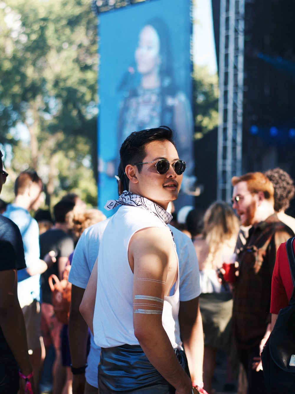 menswear fashion osheaga festival H&M