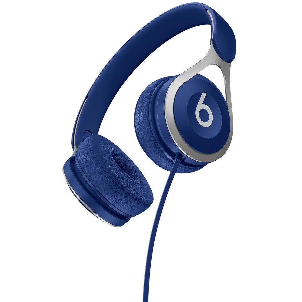Beats by Dr Dre EP on ear sound isolating headphones with Mic- Blue $99.99.jpg