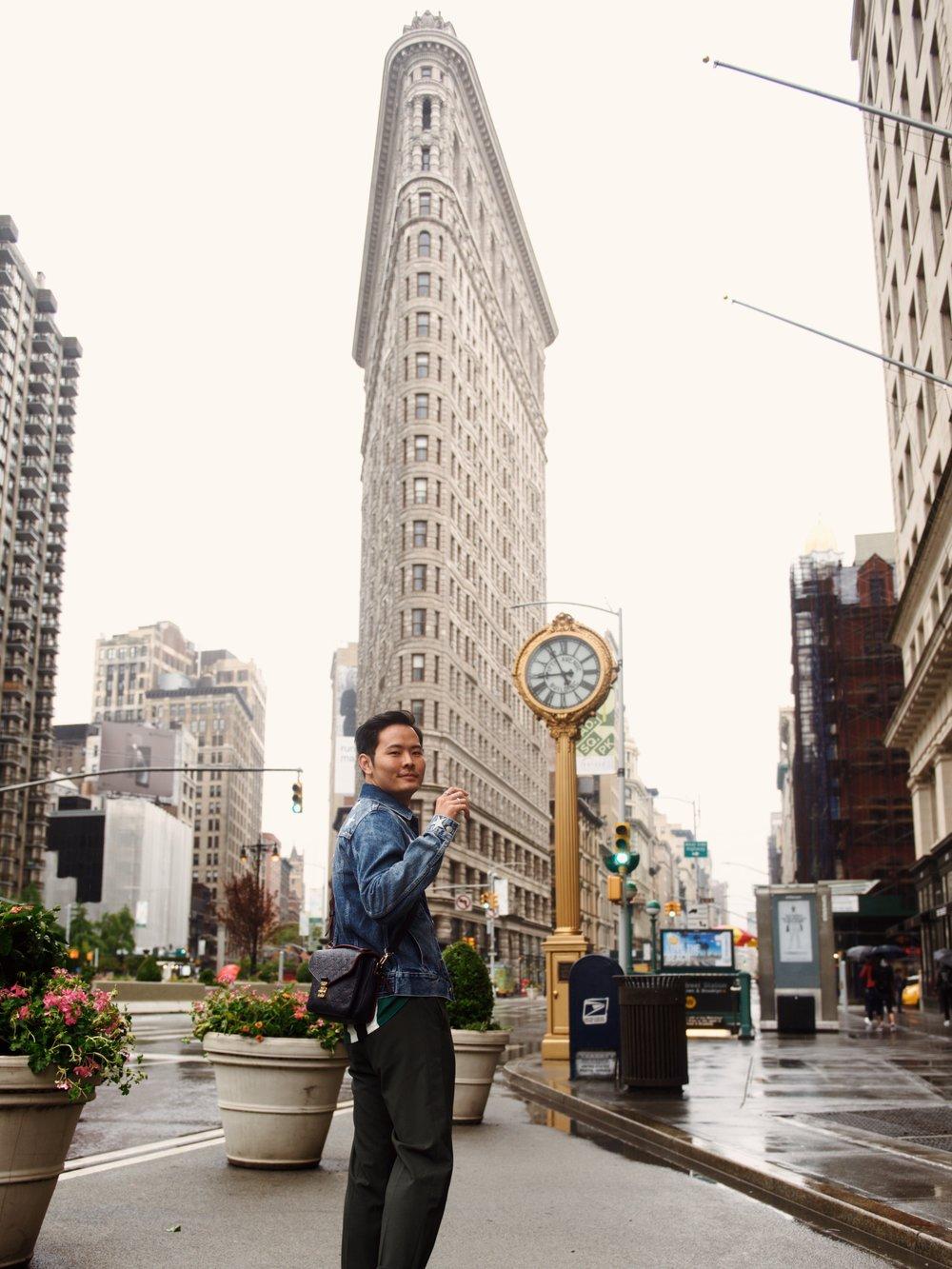 new york flat iron building