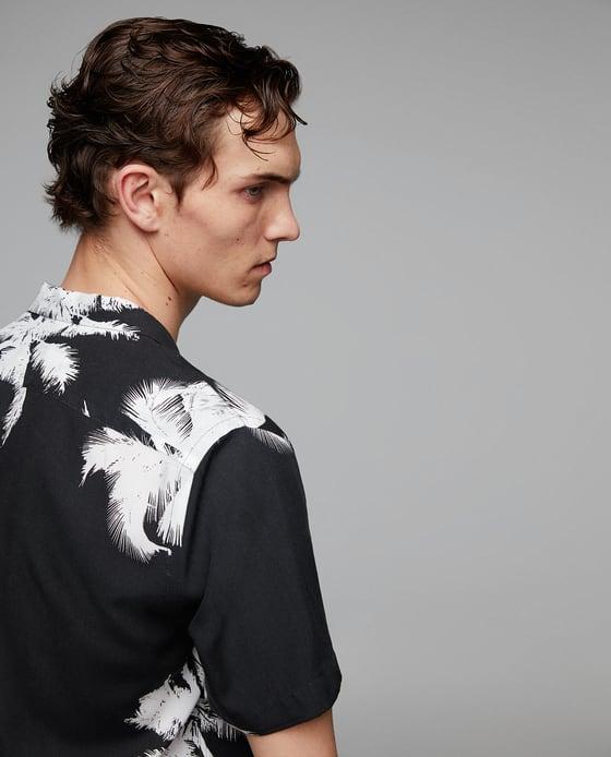 zara hawaiian shirt