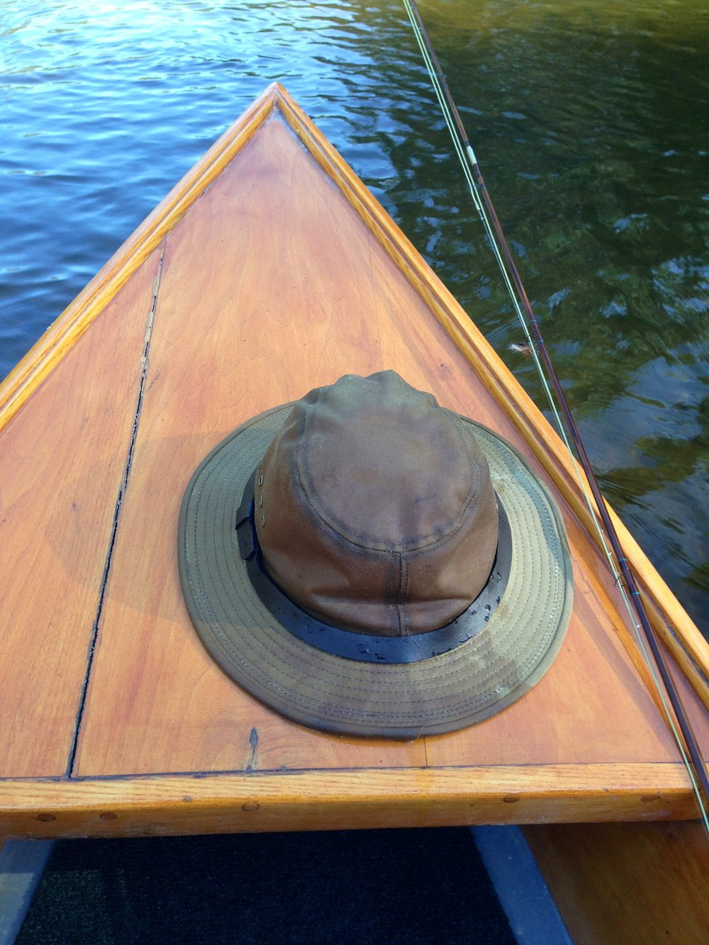 Hat and AuSable boat.jpg