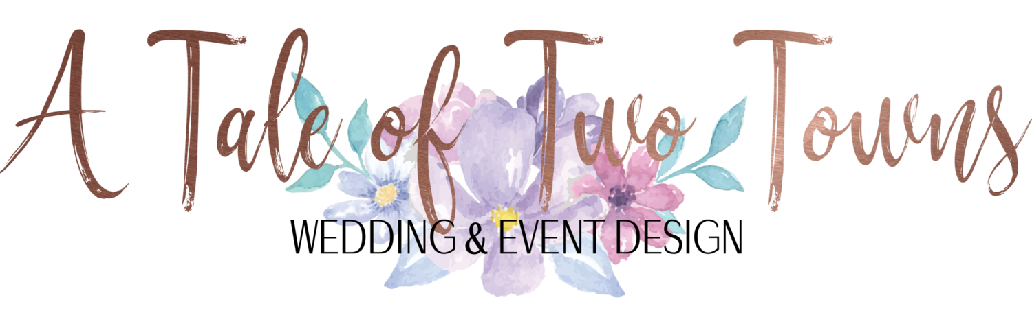 A Tale of Two Towns Wedding & Event Design