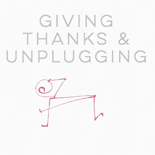 Happy Thanksgiving! I'm grateful for technology, but I love the refresh that comes from unplugging. I'm changing up the daily routine to flex around the holiday and keep it fun. Enjoy!  #pilates #fitmom #healthyliving #simpleliving #balancedlife #livingwell #creativeentrepreneur #picoftheday #motivation #fitness #pilateslovers #girlboss #matwork #pilateslife #fitlife #dailycupcake #happythankgiving #thanksgiving #unplugging