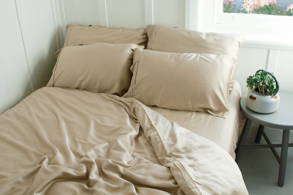 Bamboo Coffee Bedding will be available in  Flat White