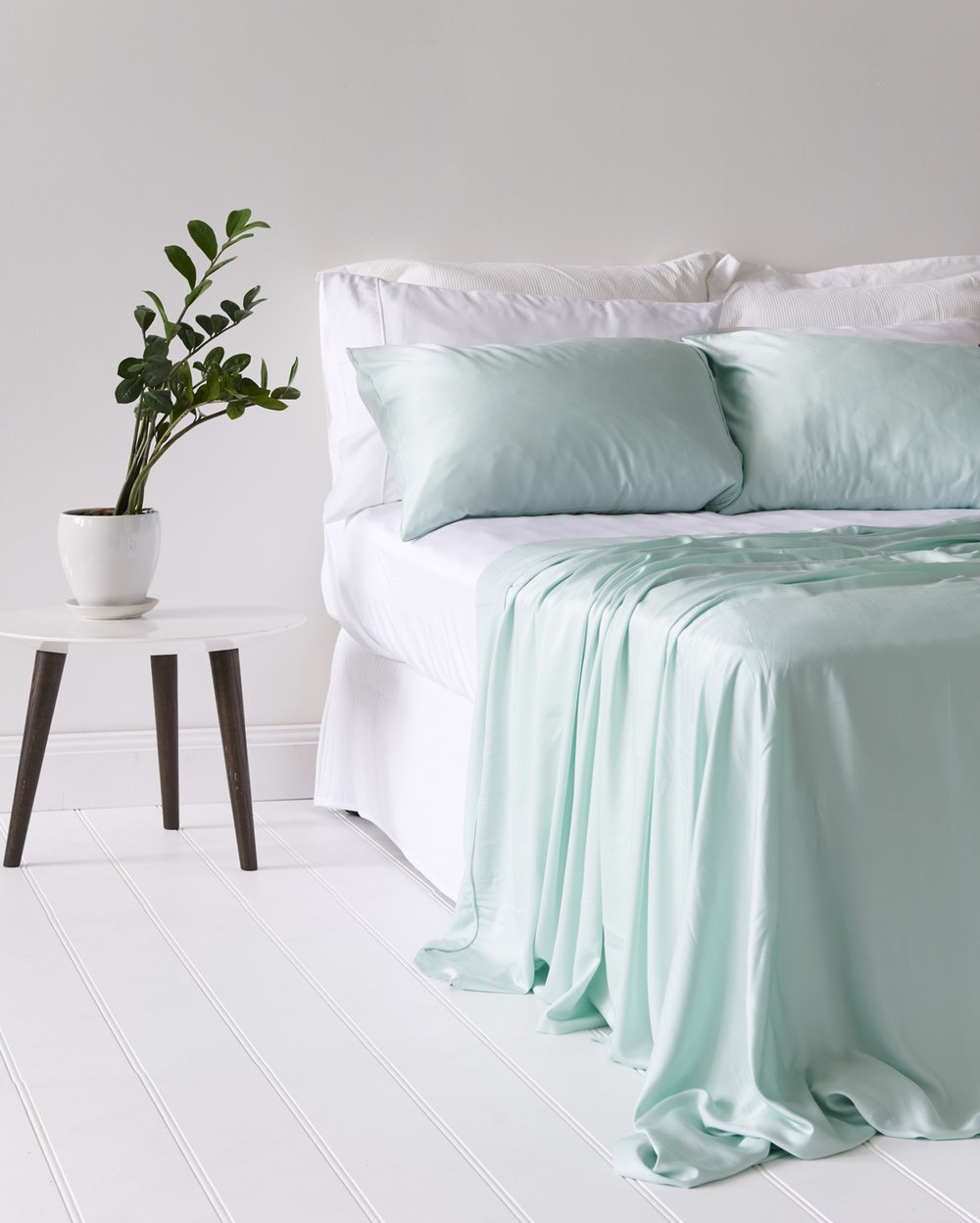Bamboo Lyocell Sheet Set in Paradise Green