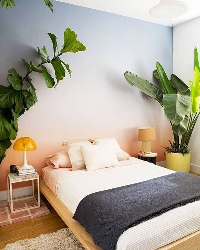 A little oasis to sleep in. The more plants, the better! 🌿 #sleepwithettitude