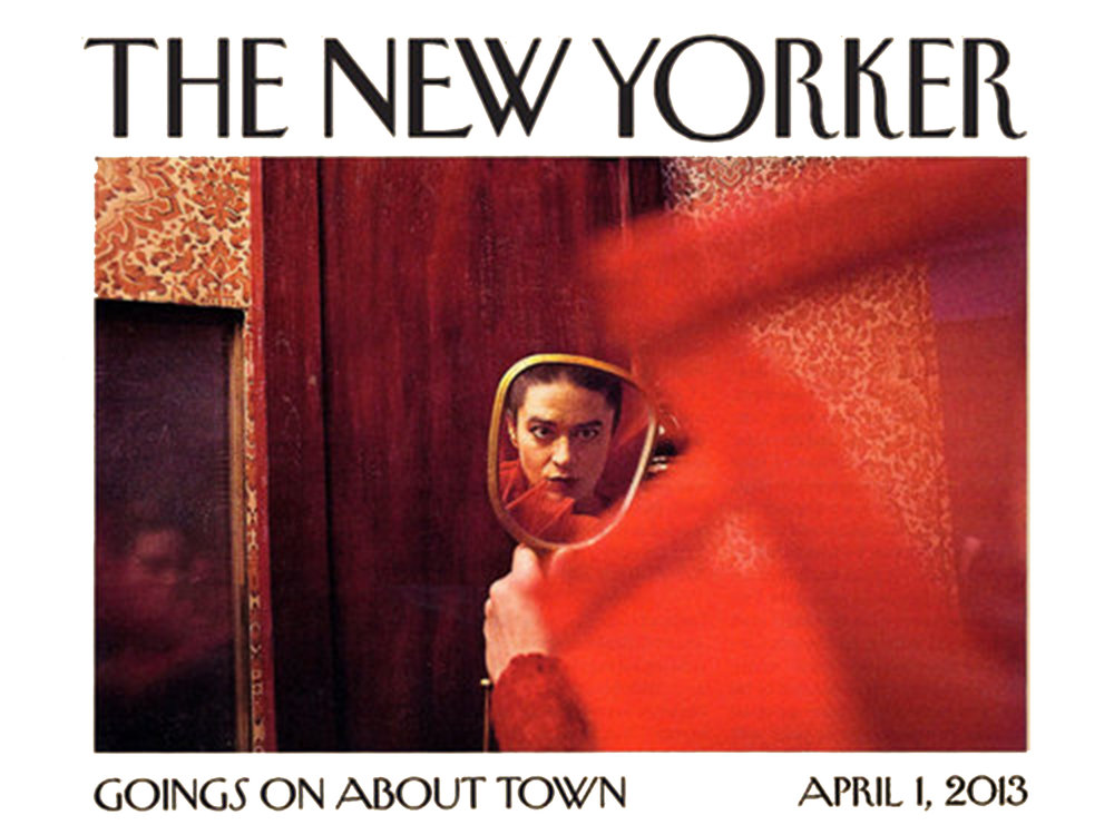 """The New Yorker    Review   April 1, 2013  Goings On About Town/Review   """"wildly imaginative… an anxiety-provoking but exciting theatrical encounter… Wonderfully written, directed, and choreographed."""""""