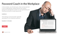 Click to review Password Coach in the Workplace