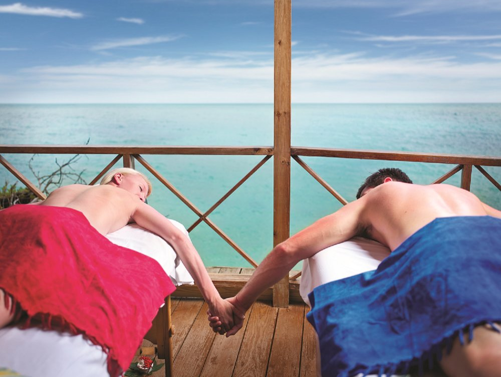The spa experience at the water - photo provided by Jamaica Tourist Board