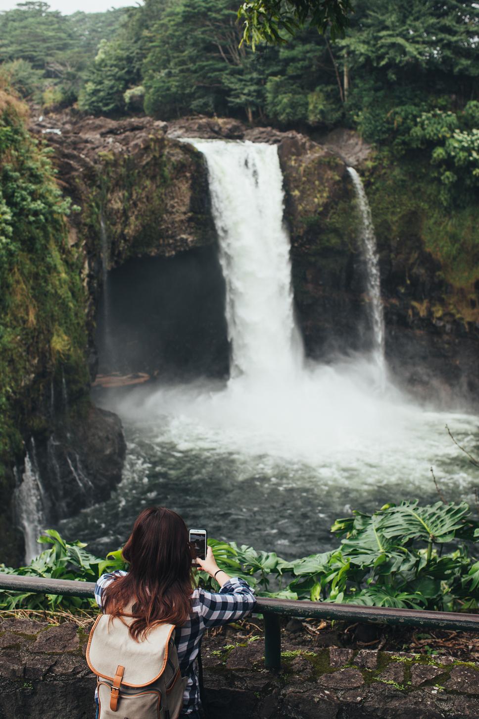 Waianuenue (Rainbow Falls)-  Hawaii Tourism Authority (HTA) / Mark Kushimi
