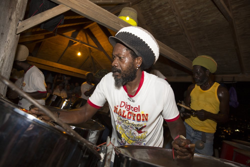 A little steel drum to get you in the mood - picture provided by Antigua & Barbuda tourist board