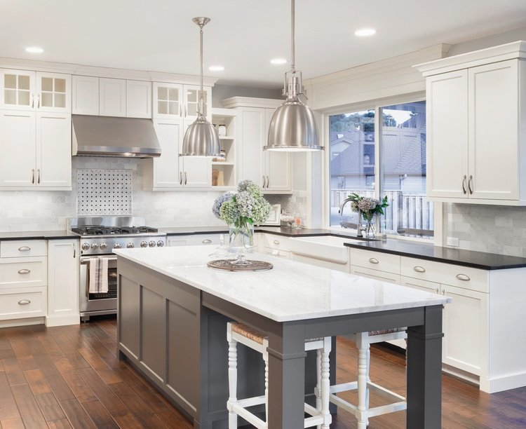 Home Renovations & Remodeling — Two Toned Kitchen Cabinets: The Next ...