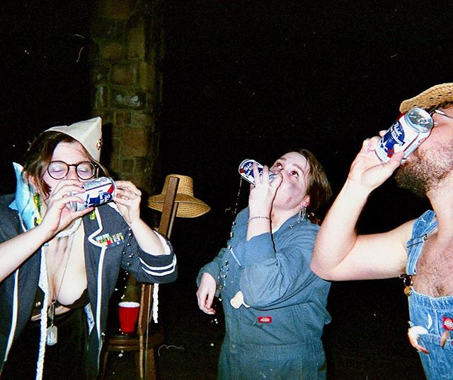 Some filmè from Underwater Tuff New Years shenanigans. #tetanus #35mm #disposables