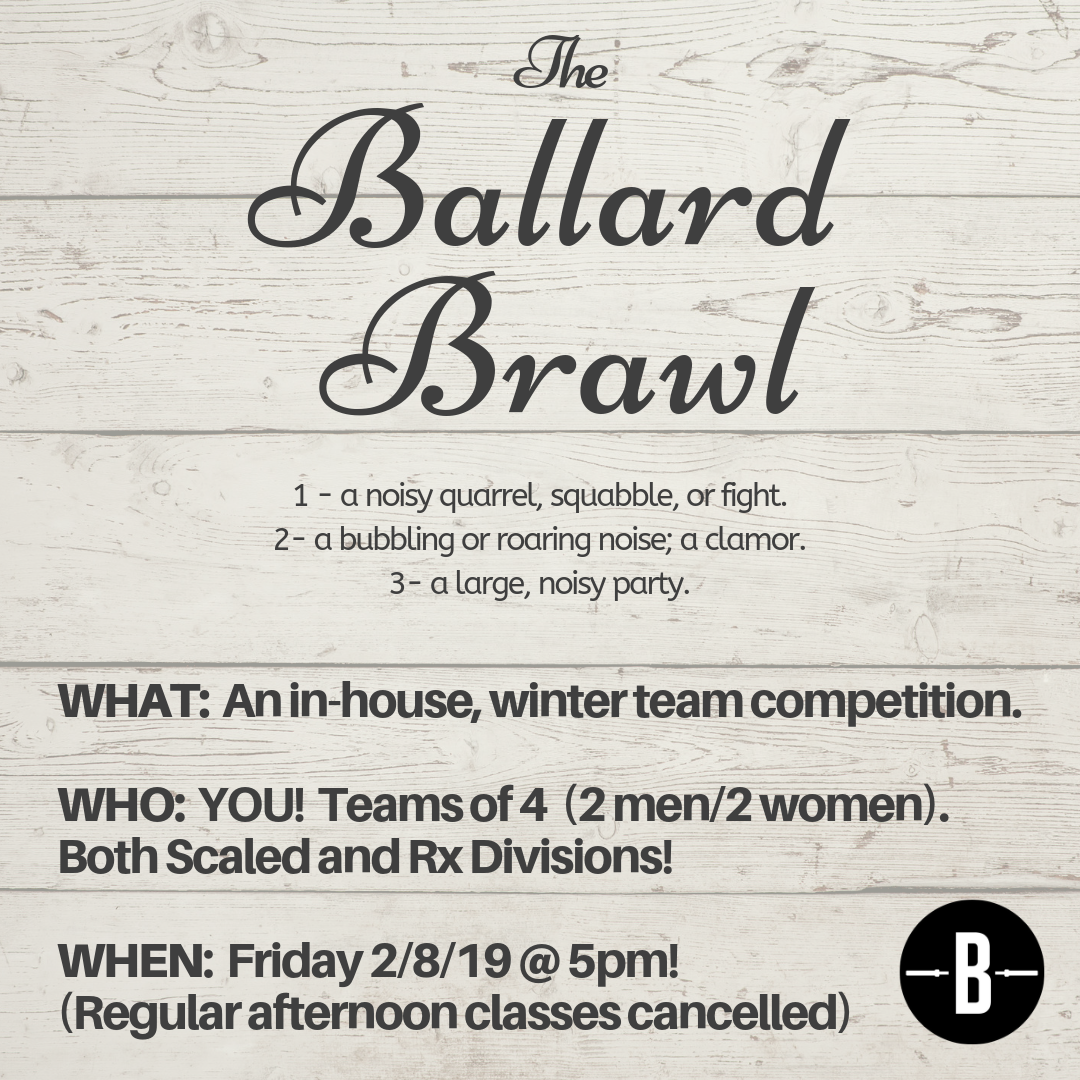 the winter ballard brawl — ballard crossfit