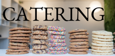 Interested in having cookies at your next event? We cater everything from baby showers to weddings to corporate events. Our minimum order requirement is three dozen and we need 72 hours notice for all orders. Thank you and we look forward to speaking with you soon!