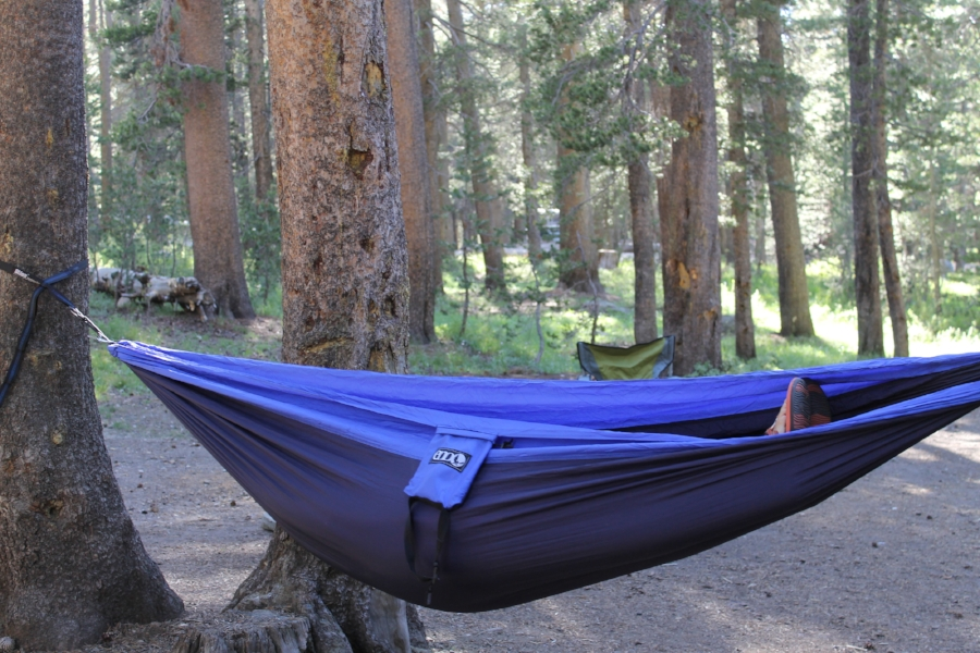 Sweet, sweet hammock hang time is the best after an 8 mile hike