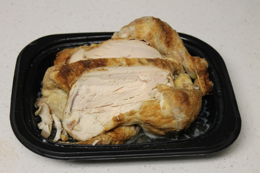 Thank you Costco for this tasty chicken.