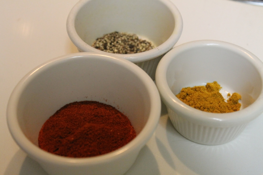 All these spices together made for the last ten minutes of cooking to be very aromatic.