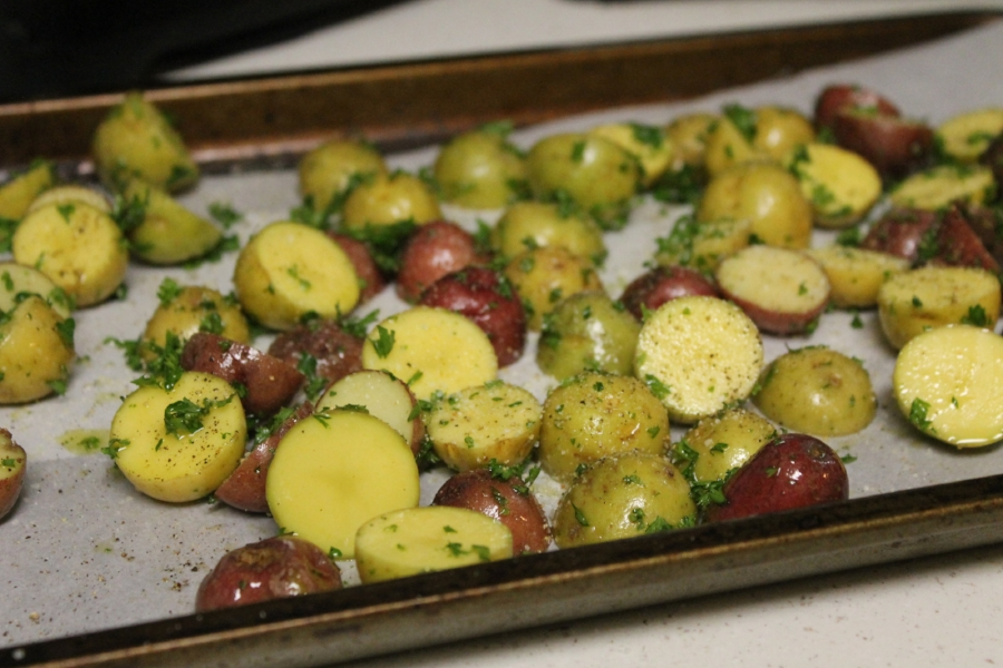 Want to add a little extra flavor? Use garlic salt instead of regular sea salt!