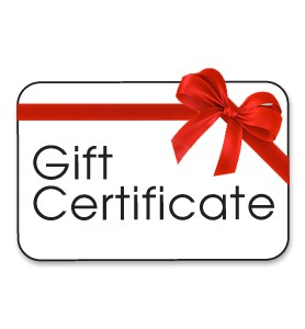 gift certificate derossi global